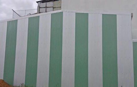 ốp tôn chống thấm tường mới nhất