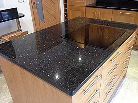 đá granite ốp bếp